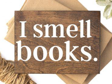 i smell books plant