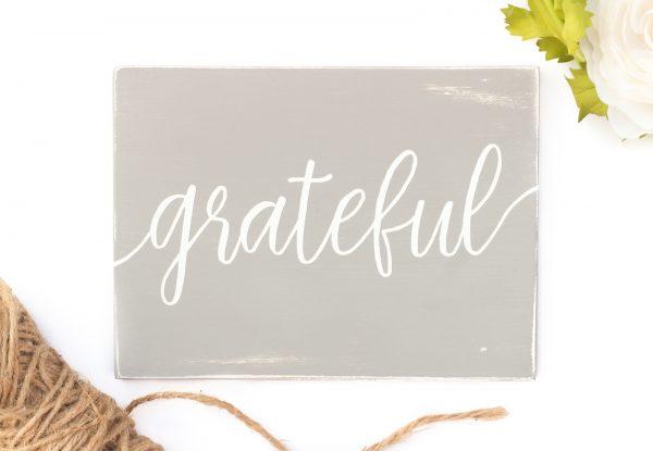 grateful sign