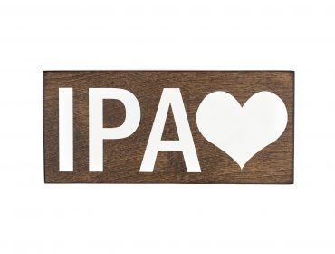 ipa beer sign
