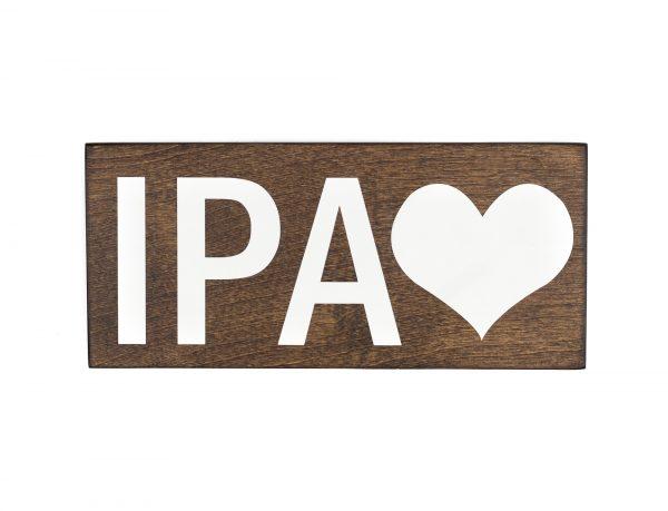 ipa beer sign